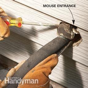 energy savings seal plumbing  wiring holes  family handyman