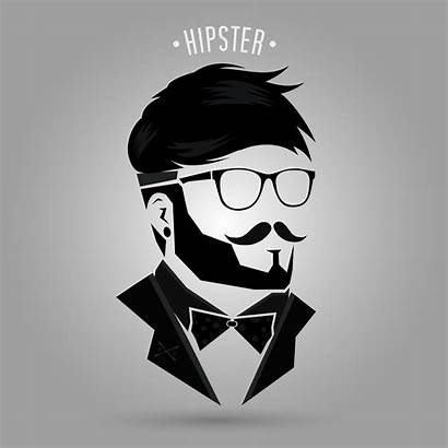Hipster Vector Hair Background Illustration Clipart Graphics
