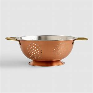 Copper Colander World Market