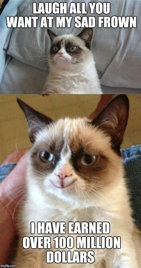 Frowning Meme - frowning cat meme nyan cat vs grumpy cat animeme rap battles grumpy cat frowning cat memes image