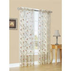 light filtering sheer curtains shop style selections arcadia 84 in antique polyester rod