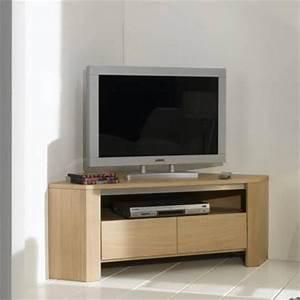 Meuble D Angle Tele : meuble tv meubles bouchiquet ~ Teatrodelosmanantiales.com Idées de Décoration