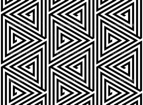 Abstract Black And White Patterns by Triangles Black And White Abstract Seamless