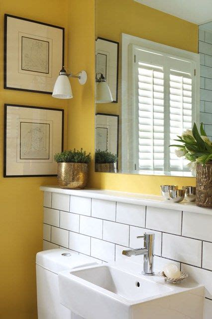 Yellow Bathroom Decorating Ideas by Best 25 Yellow Bathroom Accessories Ideas On