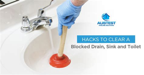 how to clear a kitchen sink blockage how to clear blocked drains sink or toilet aus test 9367
