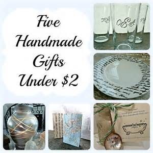 Quick Handmade Gift Ideas