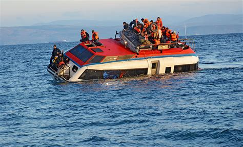 Sinking Boat Tragedy by Lethal Farce In Aegean Sea Continues As Another Refugee