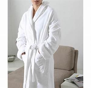 King Of Cotton : luxury soft velour cotton bathrobe king of cotton ~ Nature-et-papiers.com Idées de Décoration