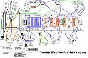 Question About Filaments On 5e3 Triode Electronics Wiring