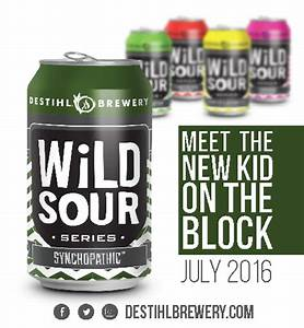 """DESTIHL Brewery Releases Wild Sour Series """"Synchopathic ..."""