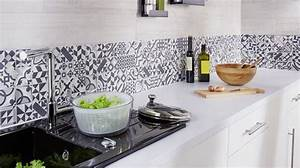 decoration carrelage cuisine meilleures images d With idee deco carrelage mural cuisine