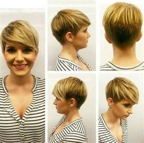 undercut round face woman