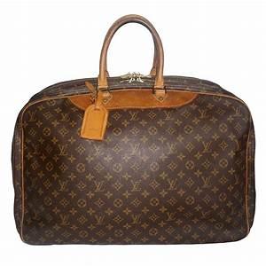 Louis Vuitton Weekender : rare louis vuitton weekender bag with iconic lv monogram and leather trim on antique row ~ Watch28wear.com Haus und Dekorationen