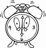 Coloring Alarm Clock Clip Olphreunion Printables Printable sketch template