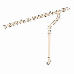 Gouttière Pour Abri De Jardin : kit goutti re sable g16 pour abri de jardin castorama ~ Melissatoandfro.com Idées de Décoration