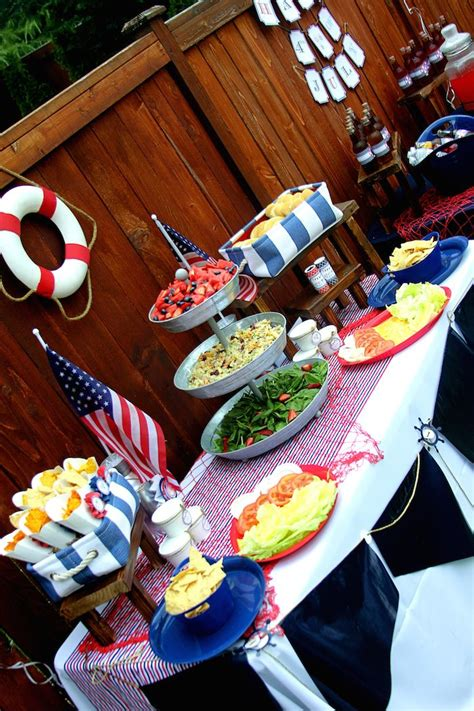 4th of july nautical dessert kara s party ideas nautical themed 4th of july party via kara s party ideas full of decorating