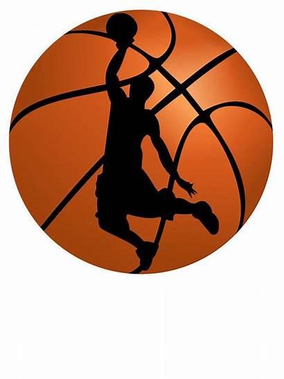 Basketball Clipart Silhouette Printable Dunk Basket Shirts