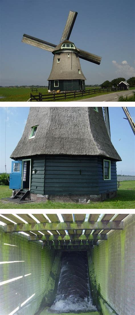 Polder mill Molen F, Burgerbrug, the Netherlands. | Dutch ...