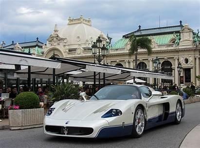 Maserati Mc12 Race Monaco Hypercar Casino Vehicle