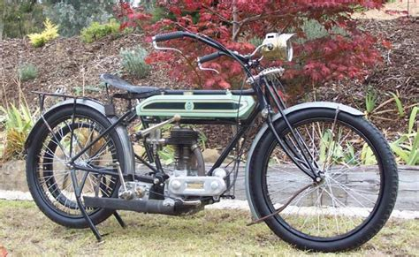 1916 Triumph Trusty Model H Classic Motorcycle Pictures