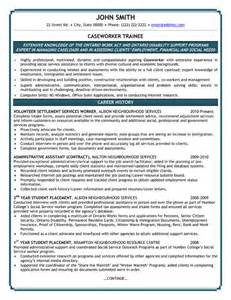 personal support worker resume exle resume format resume templates youth central