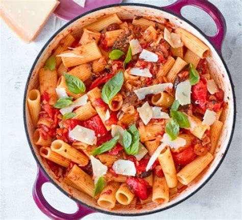 vegetarian pasta recipes bbc good food