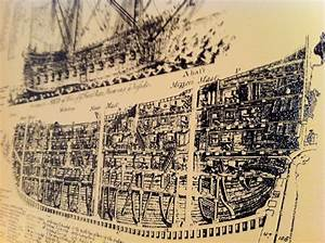 Auction  Old Ship Diagram Poster  22x28