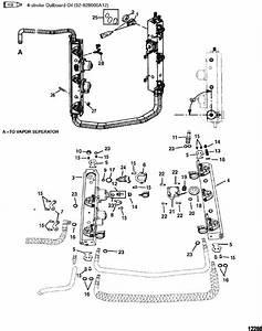 Mercury Marine 200 Hp  Dfi  Fuel Rails Parts