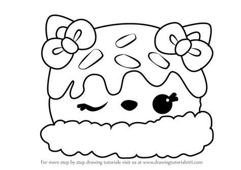 Learn How To Draw Nana Splits From Num Noms (num Noms