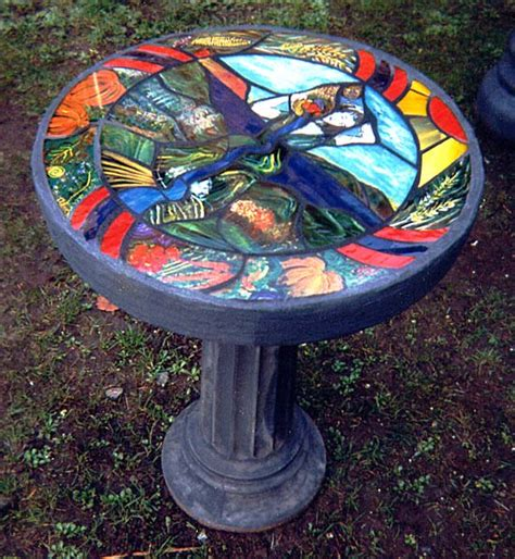 stained glass table ls stained glass tables concrete tables tables stained