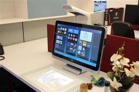 all in one computer desk introducing the hp sprout a device for the modern