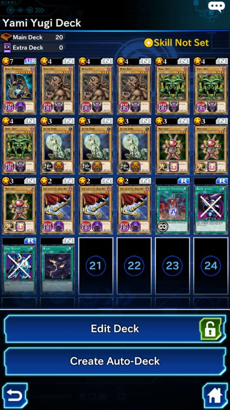 exodia deck list duel links yu gi oh duel links road of the king