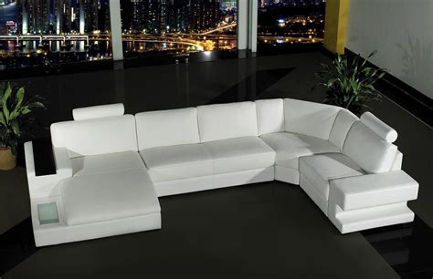 How To Make A Sofa Set by Orion Modern White Leather Sofa Set Simplicity That