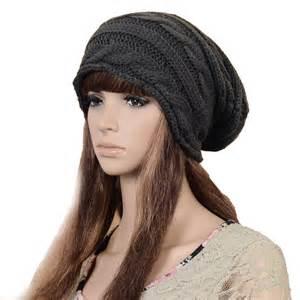 Braided Knit Beanie Hat Pattern