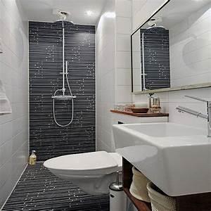 Salle De Bain Etroite : petite salle de bain hyper bien am nag e deco cool ~ Melissatoandfro.com Idées de Décoration