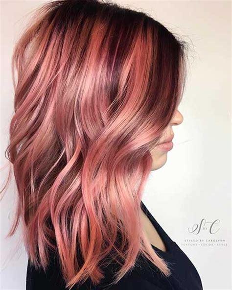 nice short pink hair ideas  young women
