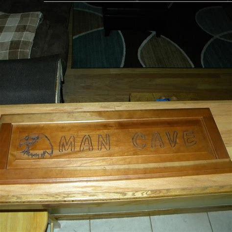 Man Cave Door Sign