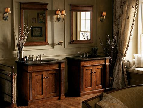 Distressed Bathroom Vanity Canada by Looking After Your Wood Bathroom Cabinets Home Interior