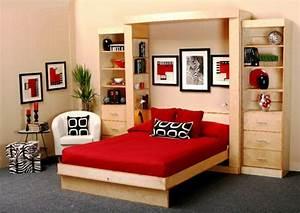 Deko Für Jugendzimmer : jugendzimmer mit schrankbett sehen cool aus ~ Sanjose-hotels-ca.com Haus und Dekorationen