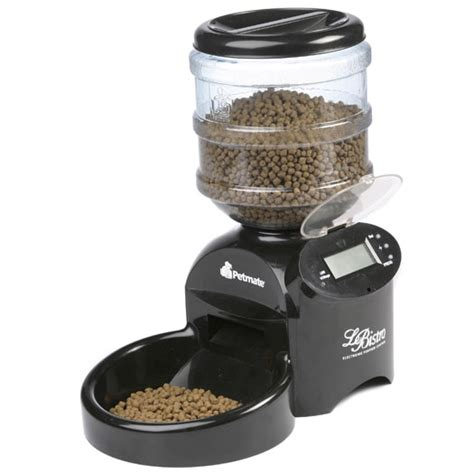 automatic pet feeder lebistro automatic portion pet feeder the