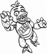 Freddy Coloring Pages Freddy1 Coloringway Cartoon sketch template