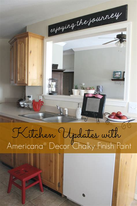 what finish paint to use on kitchen cabinets snap crafts kitchen updates with americana decor 9921
