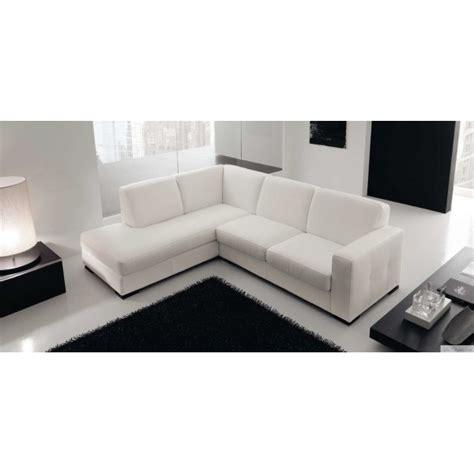 canape d angle en cuir blanc canapé d 39 angle en cuir design lyon et canapés cuir 2