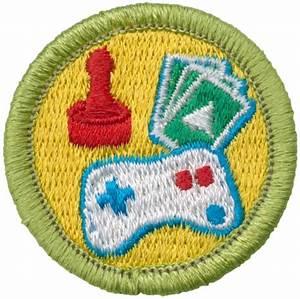 design merit badge emblem boy scouts of america