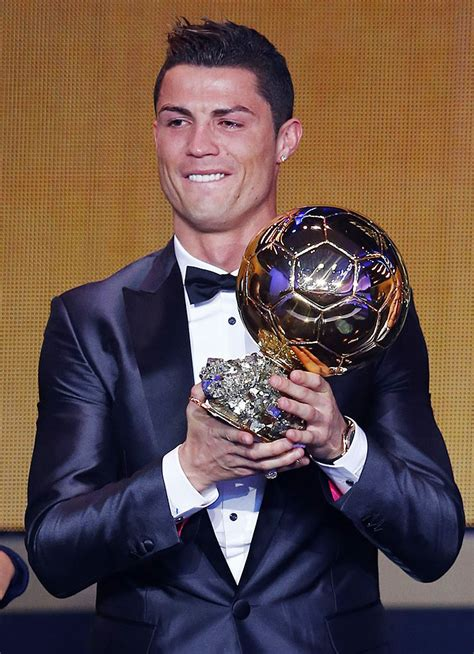 PHOTOS: Ronaldo, Pele get emotional at Ballon d'Or awards ...