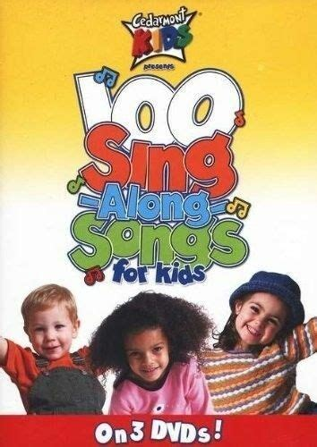 cedarmont 100 singalong songs for 3 dvd