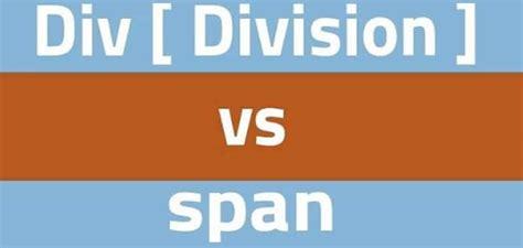 Html Div Span - div y span html diferencia entre etiqueta bloque y lineal