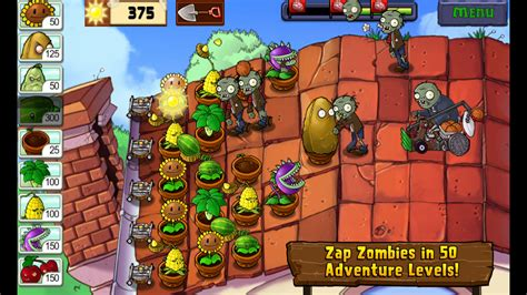 plants vs zombies amazon tablet kindle zombie popcap games android edition