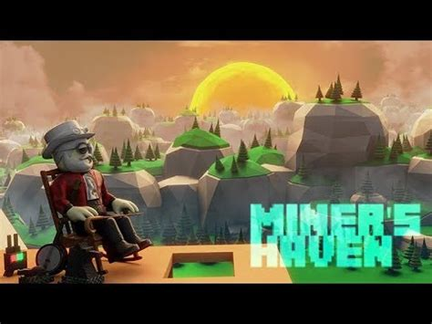 roblox miners haven    invisible cape youtube