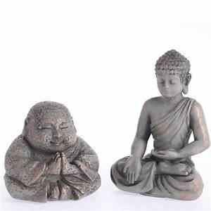Miniature Resin Buddha Figurines - Table and Shelf Sitters